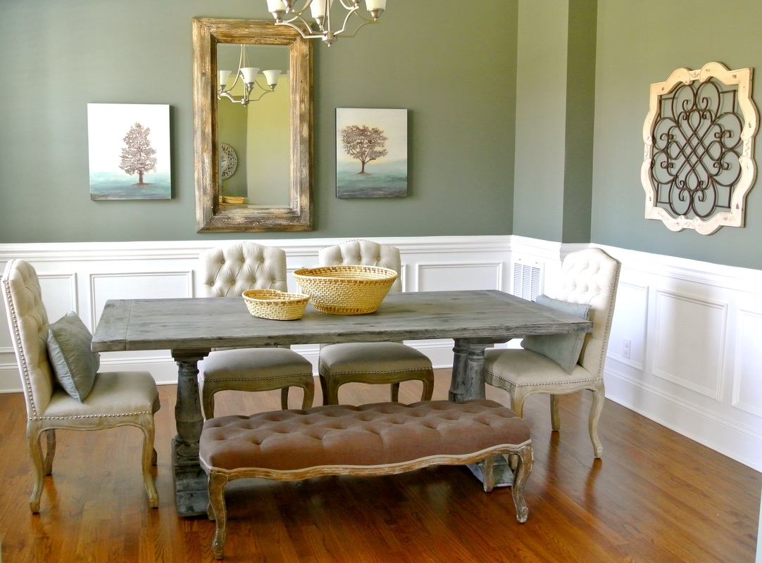 the redesign company dining room
