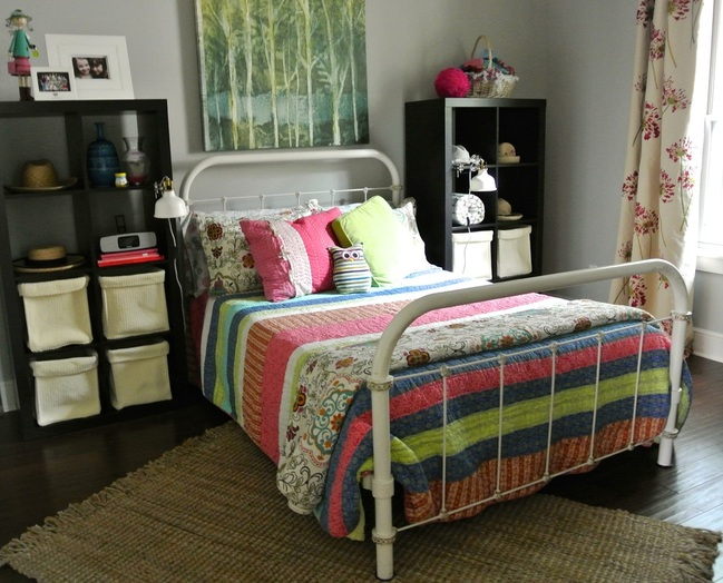 the redesign company girls bedroom