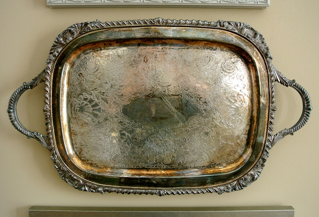 the redesign company silver tray