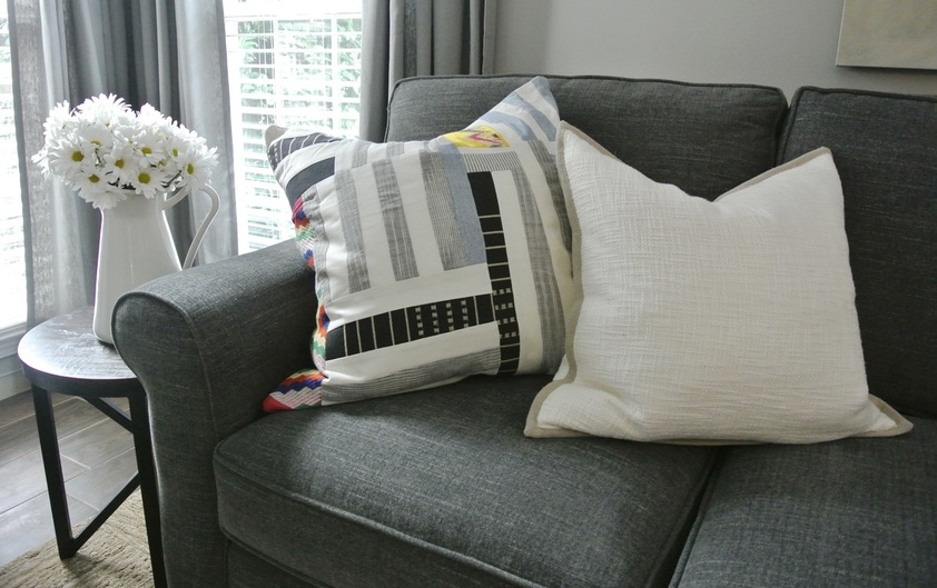 the redesign company accent pillows