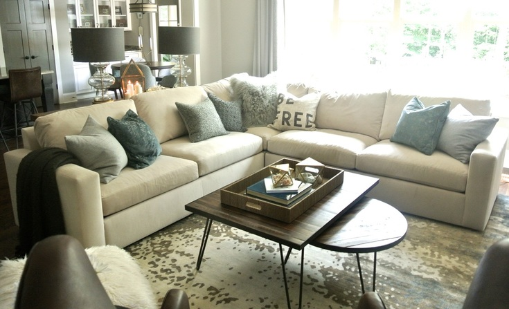 the redesign company living room