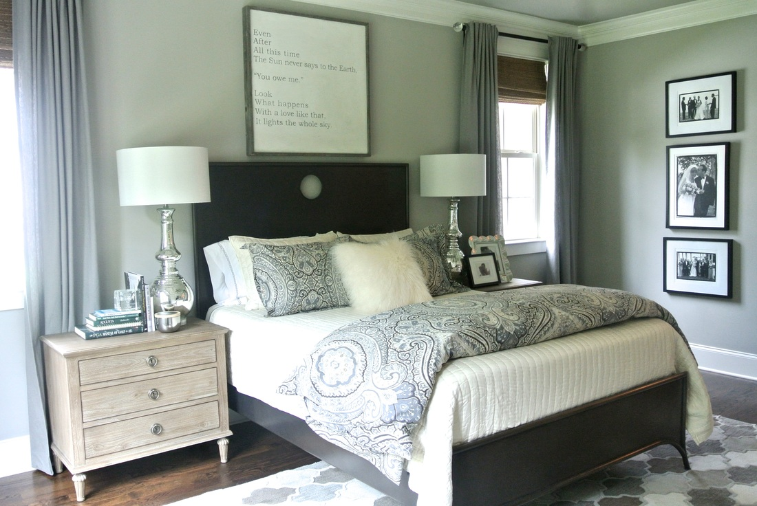 the redesign company master bedroom