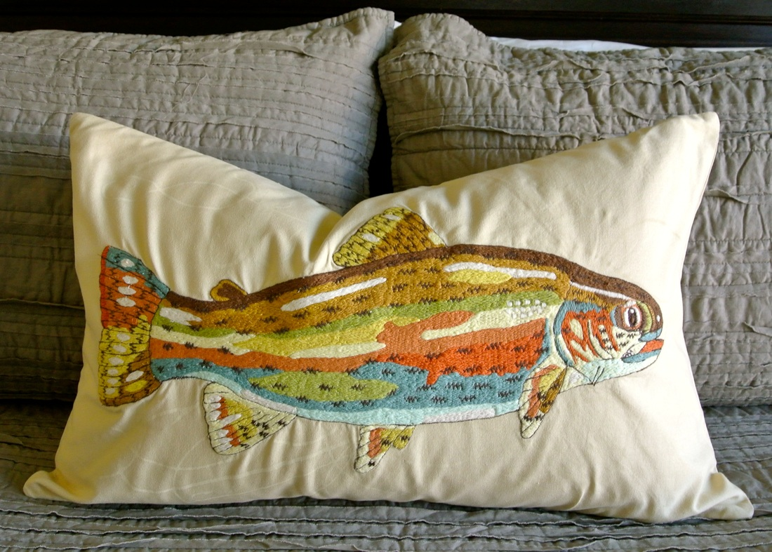 the redesign company fish pillow